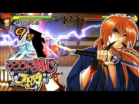 PSP - ► Samurai X - Rurouni Kenshin Meiji Kenkaku Roman Tan Saisen