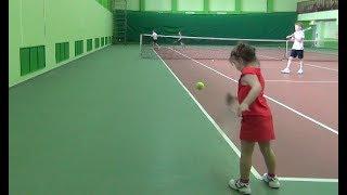 Большой теннис. Стенка. Видеоурок
