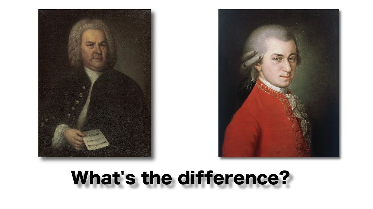 comparison of classical and baroque music
