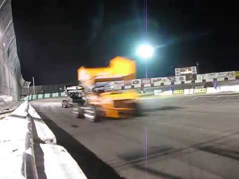 Supermodifieds vs Winged Sprint at Madera Speedway