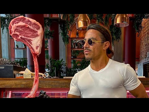 Salt Bae Cutting The BEST Meat! LIVE!