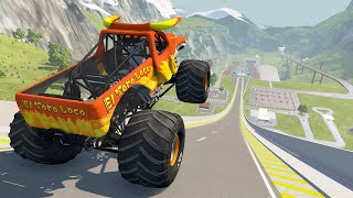 Epic High Speed Jumps #22 - BeamNG Drive   Griff's Garage