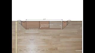 Обзор шкафа-купе со скошенными секциями по бокам