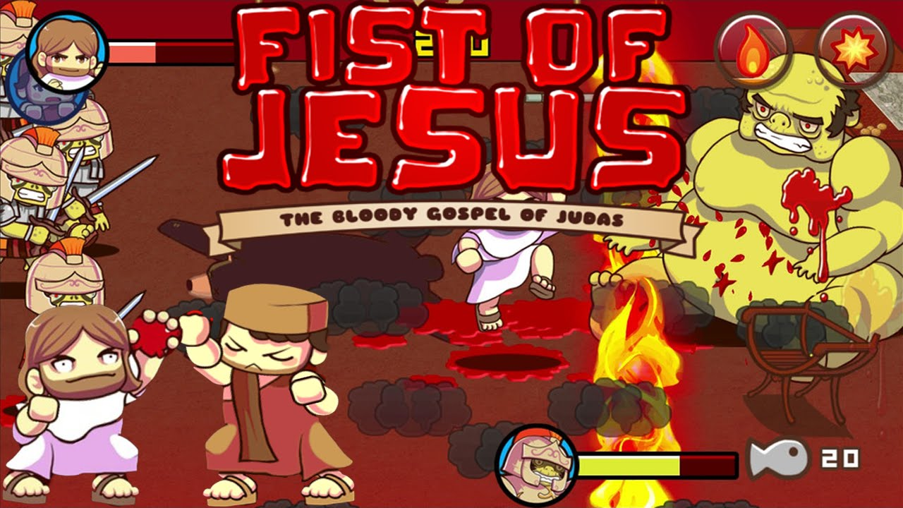 Uncategorized Jesus Game fist of jesus best game ever youtube ever