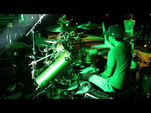 Jose Pasillas Incubus Live GREEN 6.26.12 Vigevano, Italy