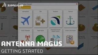 Getting Started with SIMULIA Antenna Magus