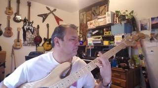 Too Much Time On My Hands: bass lesson/ cover