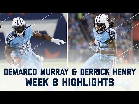 Murray & Henry Rush for Over 180 Yards! | Jaguars vs. Titans | NFL Week 8 Player Highlights