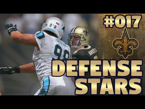 Madden NFL 17 New Orleans Saints Franchise Ep. 17 | Defense Stars (Recap)