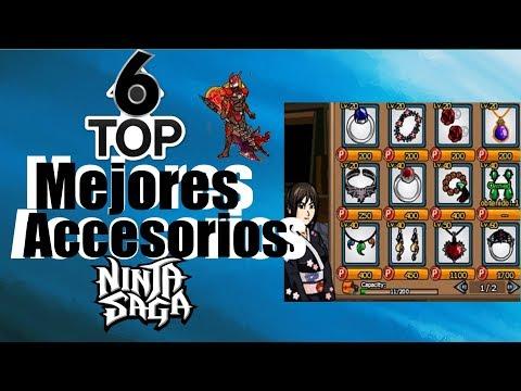 TOP 6 Ninja Saga: Best Accessories - Ninja Saga - #NinjaSaga