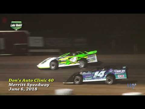 Spangler Leads wire to wire, capturing #AELMT 40 at Merritt