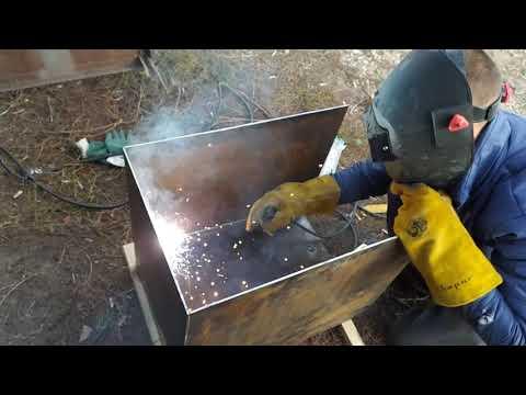 Печки буржуйки на дровах своими руками