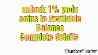 How to daily unlock Yoda Coins~YoDollar Coin Update
