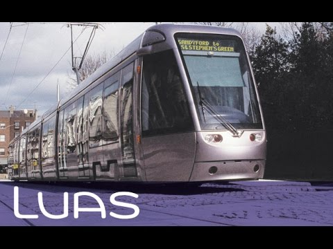 Luas crash Dublin - Museum
