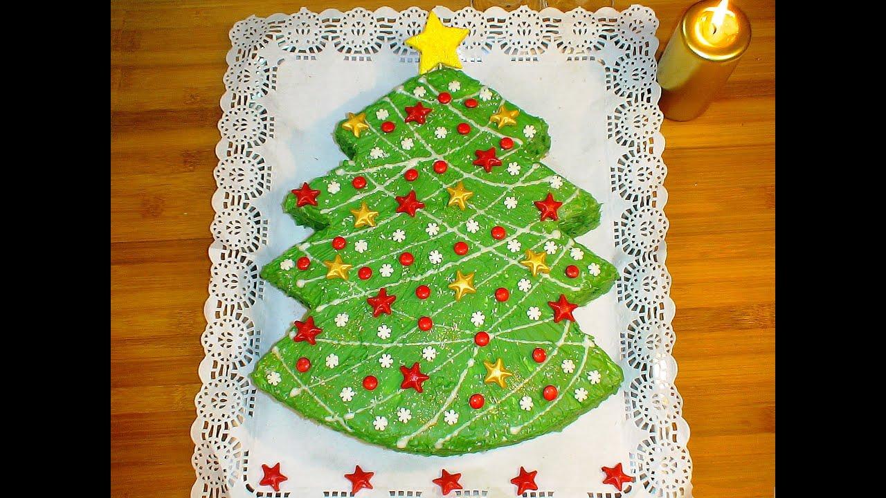 Receta Tarta de Navidad - Recetas de cocina, paso a paso, tutorial ...