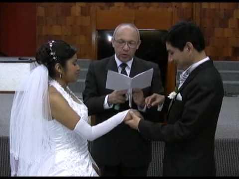 Matrimonio Catolico Requisitos Peru : Boda cristiana matrimonio evangélico video resúmen angel estaciÓn