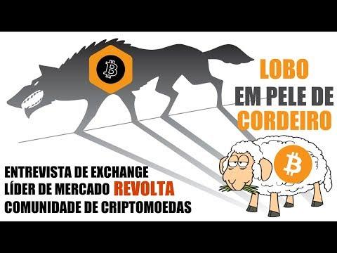 Entrevista de exchange brasileira REVOLTA comunidade crypto! Lobo em pele de cordeiro?