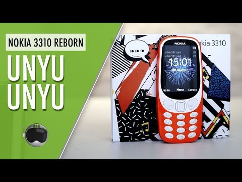 Nokia 3310 (2017) Red Indonesia: Unboxing + Hands-on