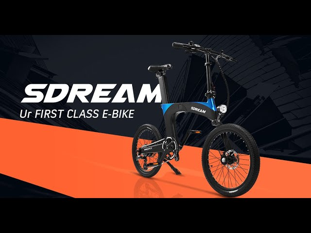 The SMOOTHEST Folding E-Bike Ever - SDREAM Ur | World Debout on Indiegogo NOW
