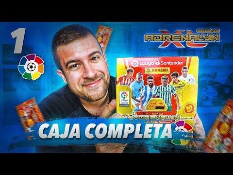 CAJA COMPLETA ADRENALYN XL 2018-19 LIGA SANTANDER | EMPEZAMOS MUY BIEN!