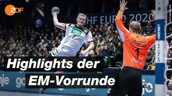 Best Of: Die Vorrunde der Handball-EM 2020