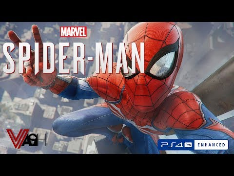 Spider-Man (don't forget the hyphen) gameplay | PS4PRO
