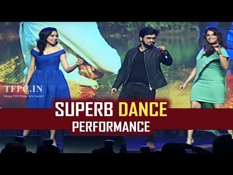 Nikhil, Ritu Varma & Isha Koppikar Super Live Dance Performance @ Keshava Pre-Release Event | TFPC
