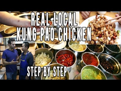 How To Make Kung Pao Chicken The Real Way, Made in China Chinese Food
