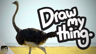 "Draw My Thing: ""OSTRICH!"" (Funny Moments w/ Kinks)"