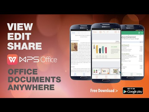WPS Office 11 7 3 for Android - Download