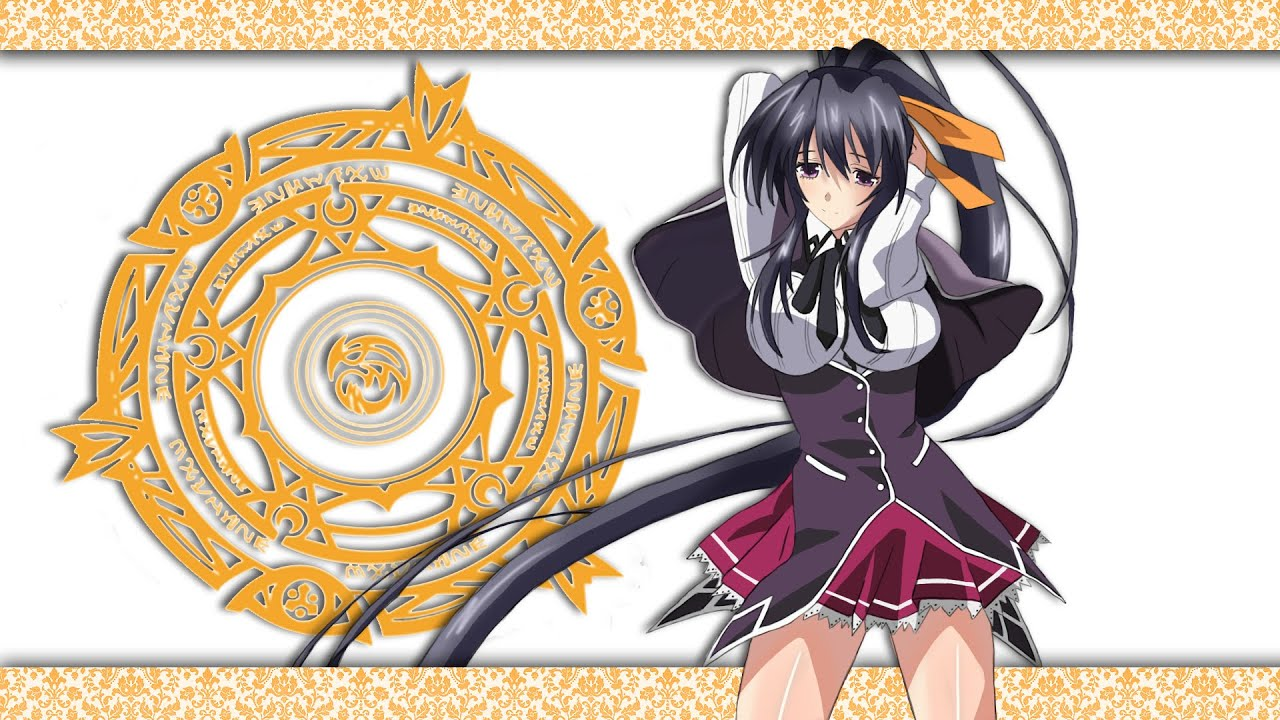 Sexy Wallpaper Akeno High School Dxd Photoshop Speed Paint