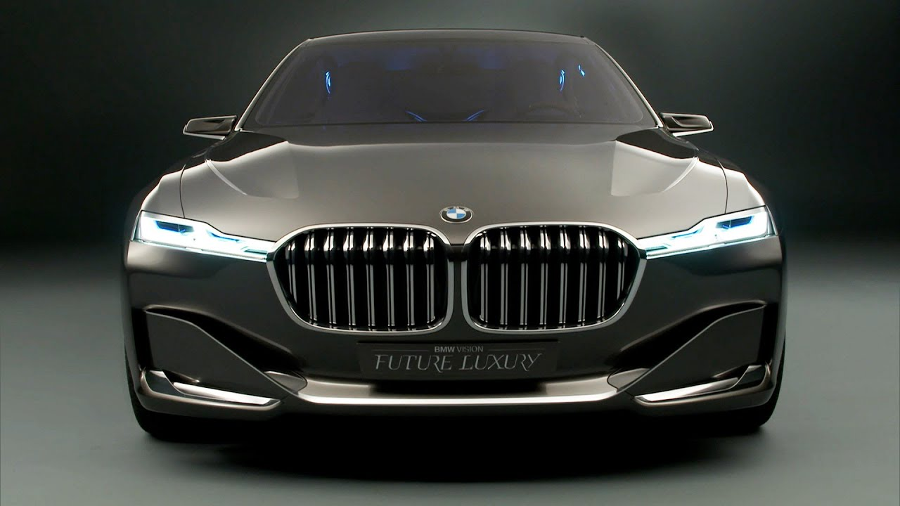 Bmw Vision Future Luxury Concept Youtube