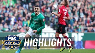 Watch full highlights between werder bremen vs. sc freiburg.#foxsoccer #bundesliga #werderbremen #scfreiburgsubscribe to get the latest fox soccer content: h...