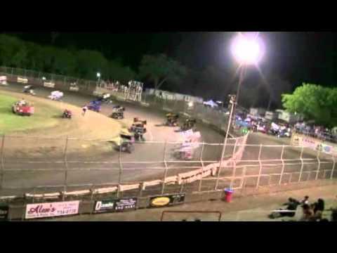 Dominic Scelzi 5/14/10 Super 600 Main Event Plaza Park Raceway Visalia