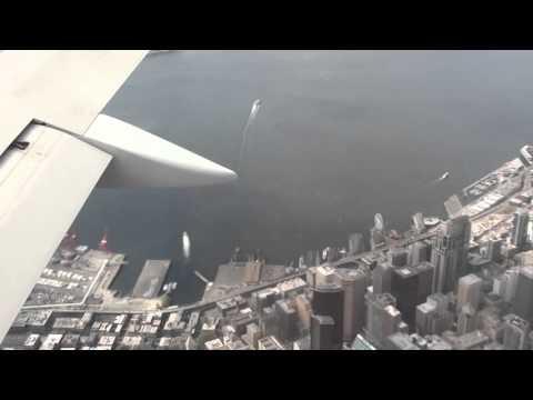 Delta Airlines Flight 1363 Landing At Seattle SeaTac Airport
