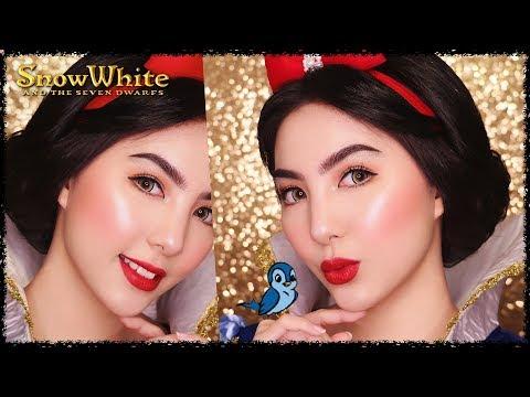 Princess Snow White Makeup Tutorial 🍎 thumbnail