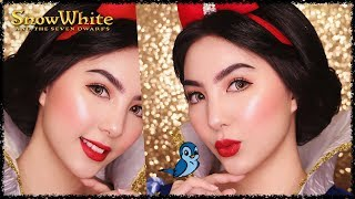 Princess Snow White Makeup Tutorial 🍎