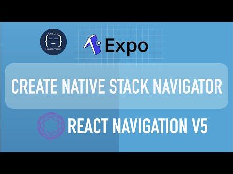 Native Stack Navigator vs Stack Navigator | React Navigation v5 | Expo | React Native