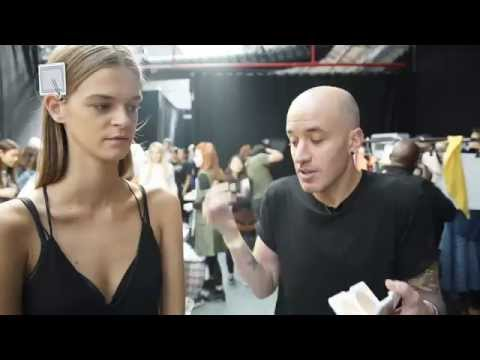 James Read Tan - Backstage at London Fashion Week SS16 with TANTOUR