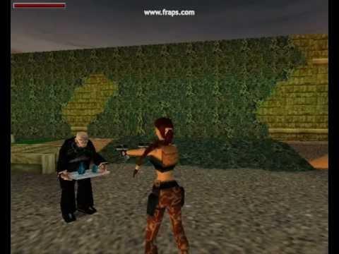 Tomb Raider Lara Kills Winston Youtube