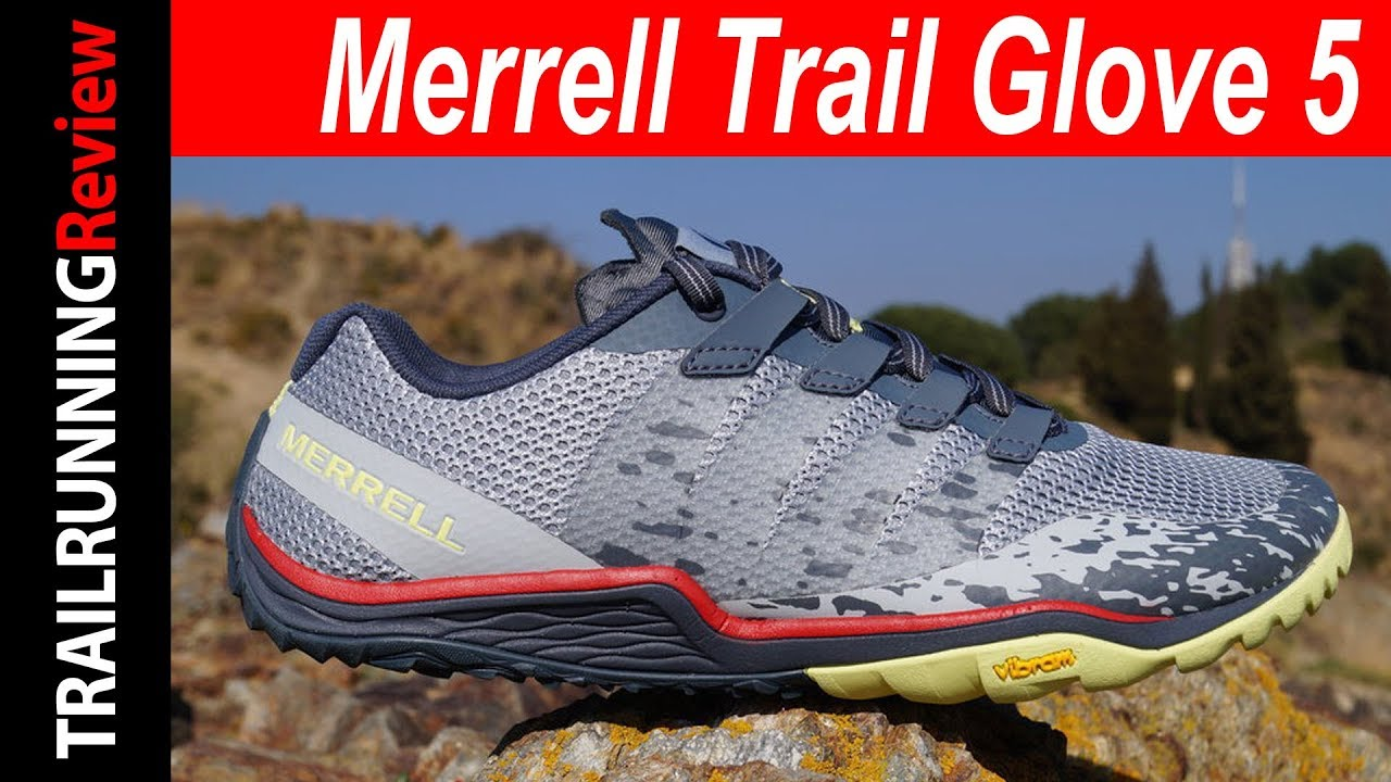 merrell trail glove 4 shield test youtube