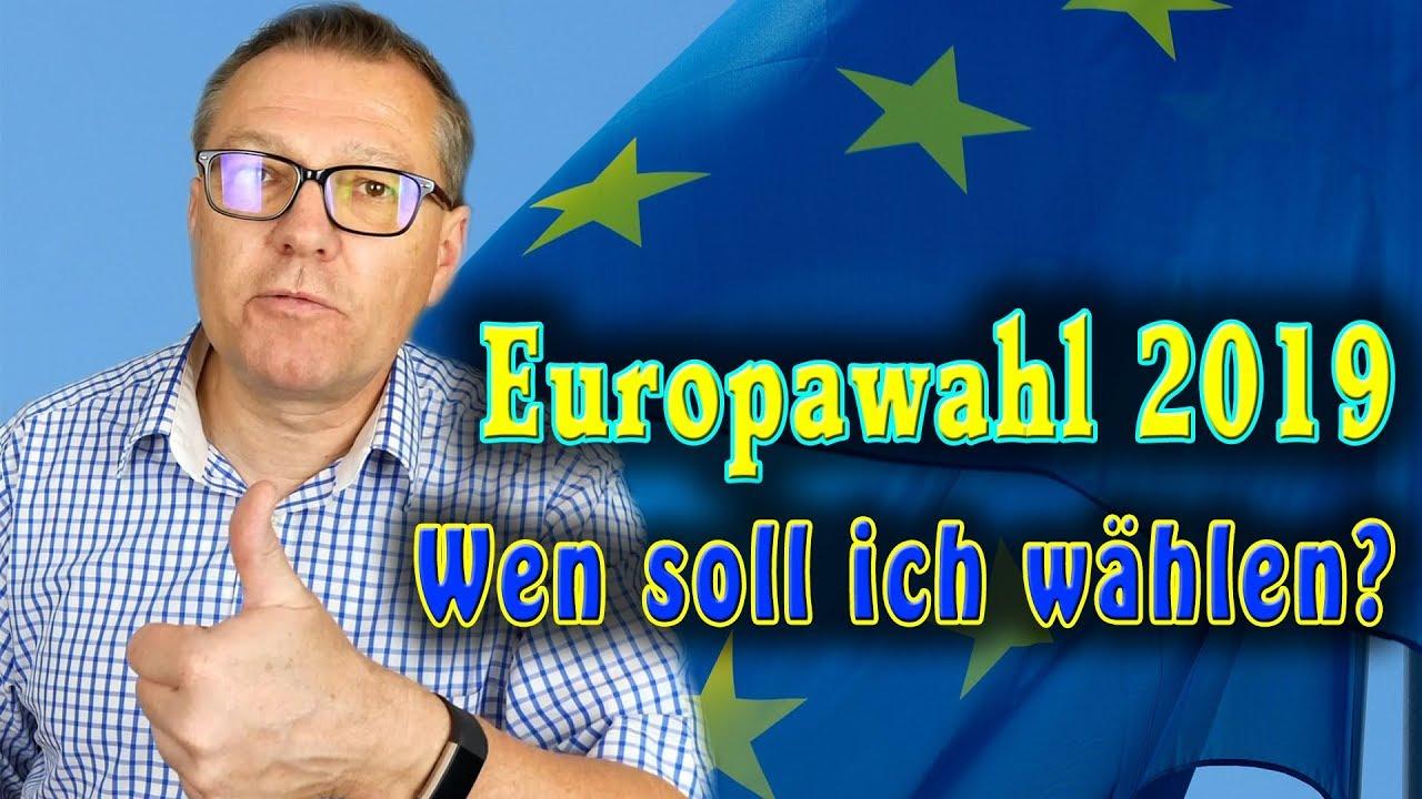 Europawahl Wen Wählen