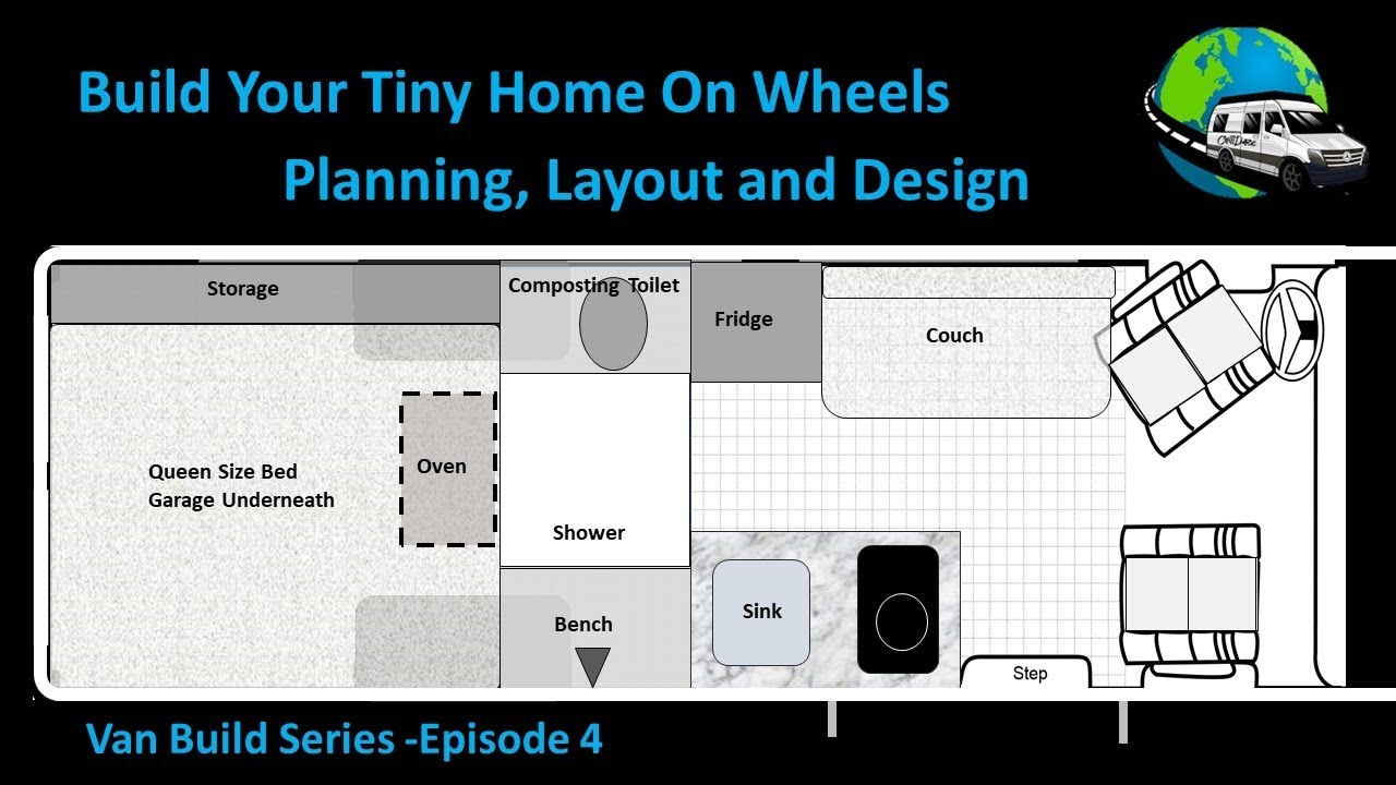 Van Conversion Planning  Layout And Design Tech Talk