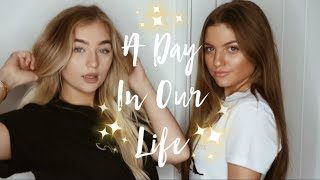 A DAY IN OUR LIFE;nearly kicked out of topshop, taking insta pics &shopping
