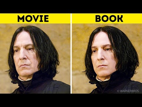 Harry Potter Characters: In the Books Vs. In the Movies Mp3