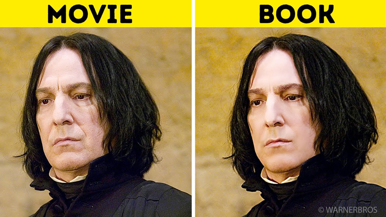Top Ten Reasons Why Books Are Better Than Movies