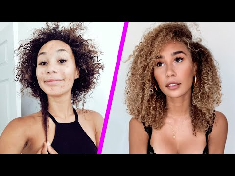 How I Grew My Hair 8+ INCHES And Cleared My Skin In 6 Months! 6 STEPS TO GLOWING UP    MyLifeAsEva