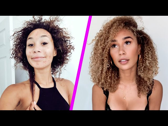 How I Grew My Hair 8+ INCHES And Cleared My Skin in 6 Months! 6 STEPS TO GLOWING UP  | MyLifeAsEva