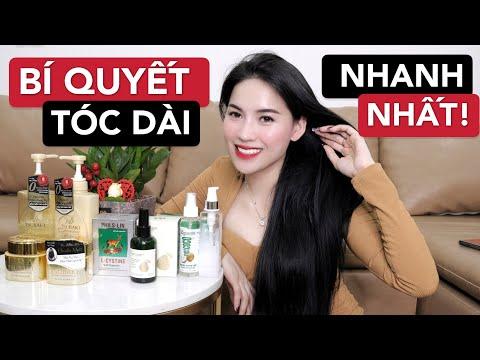 BÍ QUYẾT tóc dài nhanh hơn 20cm/năm không gãy rụng | Chăm sóc tóc bình dân rất hiệu quả !!!