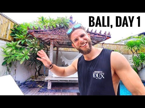 BALI, INDONESIA - Villa Tour (CANGGU)